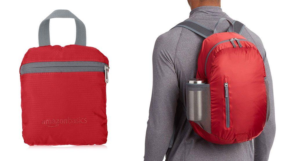 mochila de camping plegable
