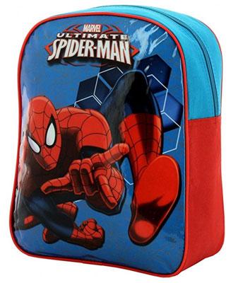 mochila-niños-personaje-spiderman
