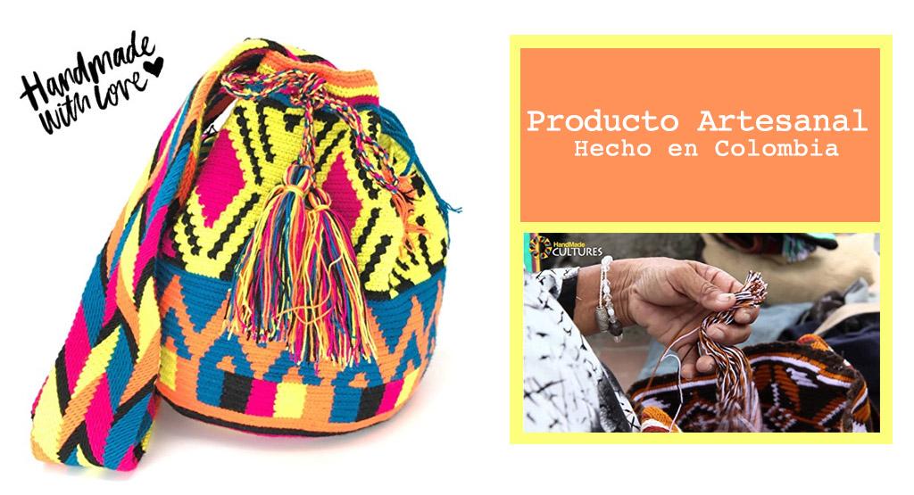 Mochilas Mujer Wayuu