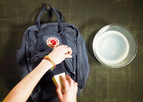Cómo limpiar la mochila