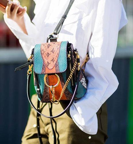 mochilas de moda llamativas